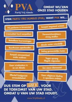 PVA-flyer